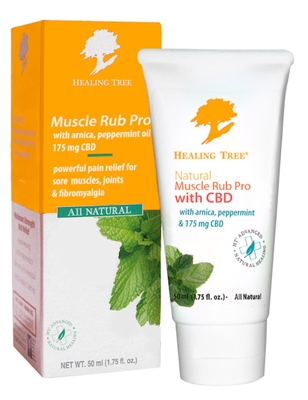 Natural Muscle Rub Pro with CBD
